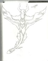 Dragon Tribal WIP by TheLonelyRoad16