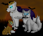 -Princess, Knight and Peasant- (Halloween Contest) by WaterPhoenixWarrior