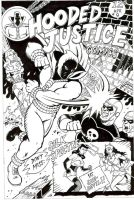 Hooded Justice inks by J5ALl53VRY