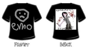EMO shirt by dawakeup