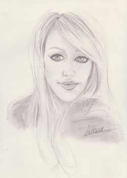 Hilary Duff by Allteriel
