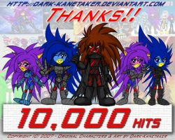 10_000 Hits and Thank You by DARTH-KANETAKER