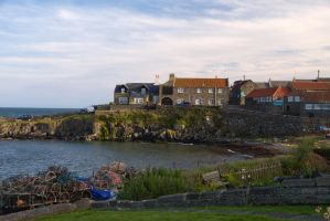 Northumberland Fishing Village by parallel-pam