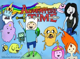 Adventure Time^^ by Hiikarii65