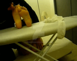 reverse FootDom! Tickling Soles GIF by poulop666