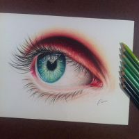 Eye study by pamslaats