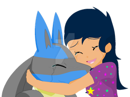 I love  you Lucario by bronypony22