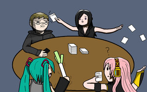 Cards Against Sanity by wambulenceman