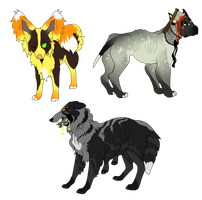 HALLOWEEN ADOPTS Paypal only by DoctorCritical