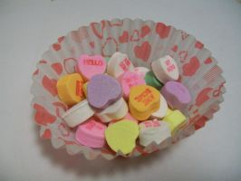 Candy Hearts XVIII by DominosAreFalling