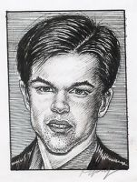 Matt Damon 5 by Mr-Ripley