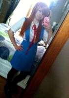 Asuka Cosplay WIP by XPockyDemonX