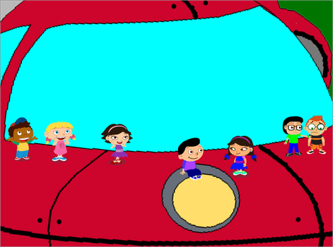 Little Einsteins on Giant Rocket by PrinceEithan28