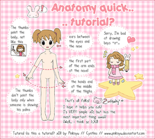 Anatomy Tutorial x3 by PinkNyu