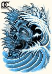 Ocean Skull by parin81270024