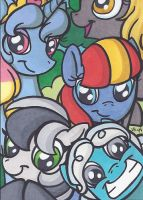 ACEO - Attack Of The OCs by cyberhare