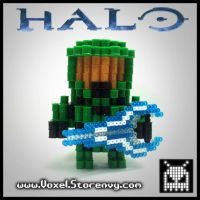 Master Chief (halo) by VoxelPerlers
