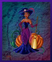 TIANA IN HALLOWEEN by FERNL