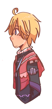 Shulk Headshot by NyanWulf02