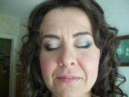 wedding makeup by Sweetie-J