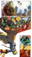 Cammy Vs Blanka pg2 by jel