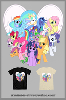 We Heart Ponies by Jiayi