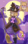 clooseed!Adoptable!TheLitleWitch~~ by ixpipoca