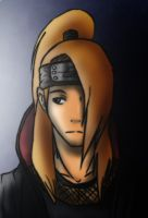 Deidara - Death Behind You by Juriia