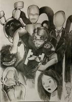 Markiplier and some old friends by Haiymi