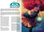 Magazine spread by Cute-Adoptabels