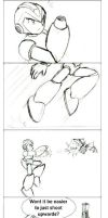 Megaman X8 Koma - shooting by ancode