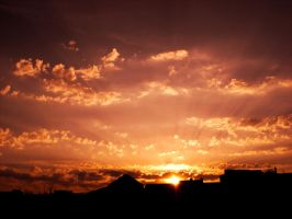 Sunset Over Berlin 100 by ErinM2000