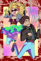 In the 80's by magic-boots