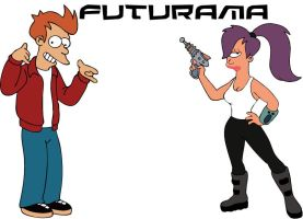 Futurama by st-solid-snake