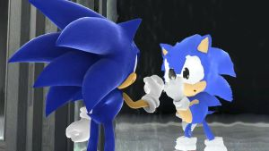 Sonic Generations The Meeting by SonicTheHedgeSantos