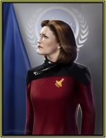 Admiral Catherine Janeway by Jethro-Lee-Gibbs