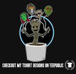 Baby Groot and friends! by AlanSchell