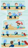 Enterprise-A Day at the Beach by daisy7