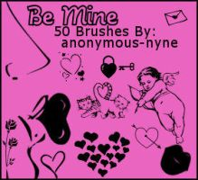 Be Mine PSP9 Brushes by anonymous-nyne