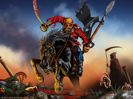 Iron Maiden Eddie :with video: by Whiluna