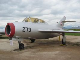 Old Mig-15 by TheAngryFishbed