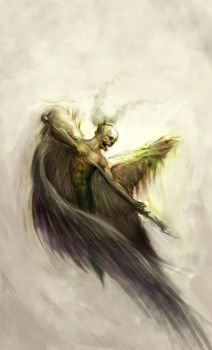 Death Angel by omegaredtooth