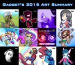 Gadget's 2015 Art Summary by GadgetTR