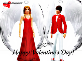 Happy Valentine's Day!! by TheSims3KawaiiMaker