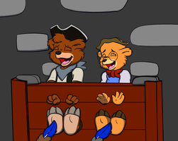 [C] Kit and Oscar Interrogated by ChaosGreiga