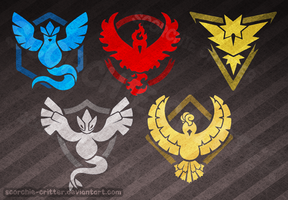 Simplified Team Logos by Scorchie-Critter