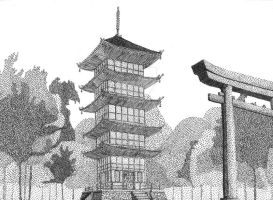 Templo Japones by tonetto17