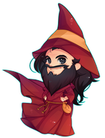 [Commission] Wizard by Z-E-N-E-R-O