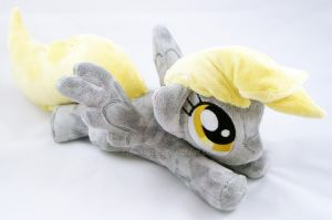 Derpy Hooves Plush by TheHarley
