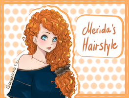 Merida's Hairstyle by ShaniNeko
